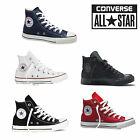 Converse All Star Hi tops Unisex OX Chuck Taylor Canvas Trainers Shoes