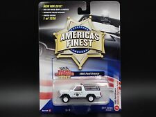 1980 FORD BRONCO CHP CALIFORNIA HIGHWAY PATROL 2017 RACING CHAMPIONS A 1/1336
