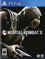 PS4 ACTION-MORTAL KOMBAT X  PS4 NEW