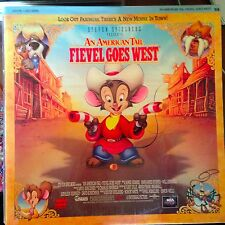 An American Tail 2 : Fievel Goes West  - LASERDISC  Buy 6 for free shipping