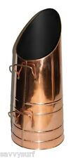 Copper Coal Hod Coal Bucket Log Holder Fireside Accessories Coal Scuttle Scoop