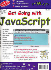 Get Going with Javascript by Martin Baier (Paperback, 2002)