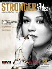 Stronger What Doesn't Kill You Sheet Music Piano Vocal Kelly Clarkson  000354274