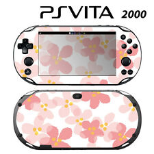 Vinyl Decal Skin Sticker for Sony PS Vita Slim 2000 Sweet Floral Pink