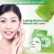 Natural Aloe Vera Moisture Essence Face Masks Sheet Facials Beauty Skin Care RD