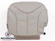 00-02 GMC Yukon SLT -Driver Side Bottom Replacement LEATHER Seat Cushion Cover