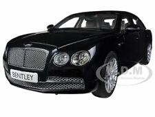 BENTLEY FLYING SPUR W12 ONYX BLACK 1/18 DIECAST MODEL CAR BY KYOSHO 08891 NX