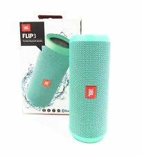New JBL Flip 3 Splashproof Portable Bluetooth Speaker JBLFLIP3TEAL Teal