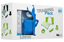 KIT 5 ACCESSORI PEDANA WII FIT TRAINING PACK FITNESS WII WII U AZZURRO