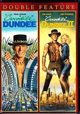 CROCODILE DUNDEE 1 & 2 - PAUL HOGAN 2 disc DVD Set Region 1 EXPRESS POSTAGE