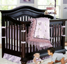 FULL CRIB SIZE- FAO Schwarz  - The Giselle Collection 8-pc NURSERY BEDDING SET