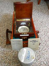 Hamilton Model #21. Marine Chronometer/Double Boxed including Shipping Container