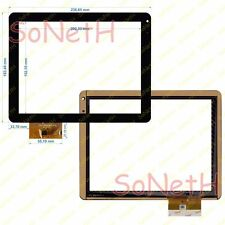 "Vetro Touch screen Digitizer 9,7"" Life EasyTab 1001G 3G Tablet PC Nero"