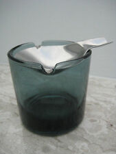 WMF Ascher WAGENFELD cendrier bauhaus vintage design top 1960  Glas ashtray rar