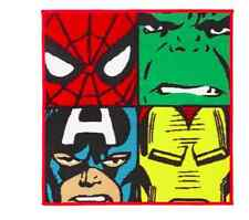 NEW Kids poliammide MARVEL Comics Tappeto Bambini Personaggio Camera MARVEL Tappetini Tappeto Camera da Letto