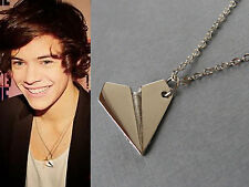 COLLANA CIONDOLO AEROPLANO HARRY STYLES ONE DIRECTION -1D PAPER PLANE