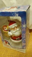 Rudolph The Red Nosed Reindeer Santa Ornament  by Kurt S.Adler in Box