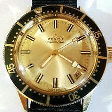 Zenith Vintage Sub-Sea Automatic Mens Watch