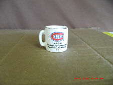 NHL 1979 STANLEY CUP CHAMPIONS Montreal vs. NY Range CUP CRAZY CERAMIC MINI MUG