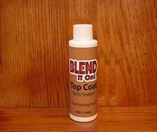 4oz  TOP COAT Satin SEALER ~ Furniture Blend it On ~ Leather Refinish, Sealer