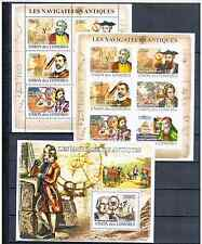 COMOROS 2009 SHIPS  PERFORED + IMPERFORED MNH