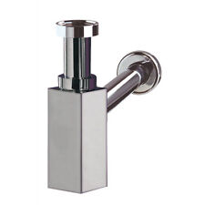 Wirquin Chrome-Plated Brass Waste Bottle Trap Drain Plumbing Bathroom Siphon