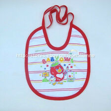 SUPER CHEAP! KEROKID BABY BIB ANIMAL PRINT BABY OWL MADE IN THAILAND BNEW