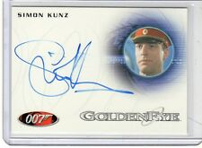 James Bond 50th Anniversary Simon Kunz auto card