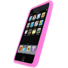 Pink Silicone Case Cover Skin for iPod Touch 2G 3G