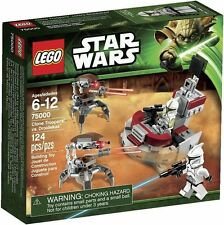 Lego Star Wars 75000 Clone Troopers vs Droidekas Battle Pack Minifigs Sealed