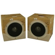 OrigAudio Fold and Play Recycled Cardboard Speakers, Daydream Design, Pack of 2