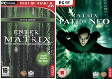 enter the matrix & the matrix path of neo   new&sealed