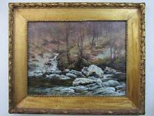 JOHN HENDERSON TARBET fine signed SCOTTISH 19thC original ANTIQUE OIL PAINTING