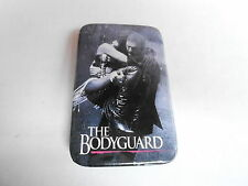 VINTAGE PROMO PINBACK BUTTON #108-114 - THE BODYGUARD movie WHITNEY HOUSTON