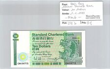 BILLET HONG KONG - STANDARD CHARTERED BANK  - 10 DOLLARS - 1.1.1988 - NEUF !