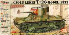 T-26 MODEL 1933 TANK (SPANISH, SOVIET & GERMAN WEHRMACHT MKGS) 1/72 MIRAGE