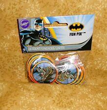 Batman,The Dark Knight,Cupcake Picks,Wilton,24ct.2113-5140,Multi-Color,