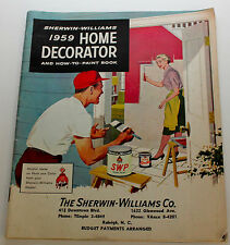 Original 1959 Sherwin-Williams Home Decorator and How to Paint Book