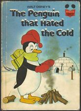 THE PENGUIN THAT HATED THE COLD  Disney's Wonderful World Of Reading Book 1ST ED