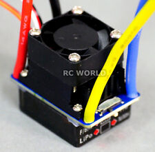 AXIAL Replacement ESC W/ FAN 40AMP LIPO NiMH SPEED CONTROL w/ Brake Watter Res.