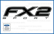 2013 Ford F150 FX2 SPORT Decals FB offroad Stickers 13 Truck Bed Side set black