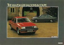 Mazda 626 1981 UK Market Leaflet Sales Brochure 1.6 DX 2.0 SDX Saloon Coupe