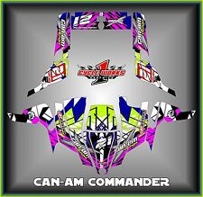 Can-am Commander 800 1000 Canam Can am  SEMI CUSTOM GRAPHICS KIT Biase