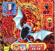 POKEMON STICKER Carte JAPANESE 50X50 1997 NORM@L N° 245 ZUBAT NOSFERAPTI