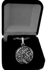 Percy Jackson's Necklace, Thalia Grace's Father, ZEUS, Pendant/Chain 4-S
