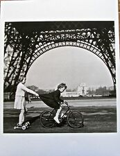 Robert Doisneau TOWING ON THE  CHAMP-de-MARS 1943 13x10 Offset Litho