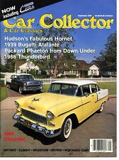 Car Collector and Car Classics September 1988--Bugatti Chevy Ford Packard Hudson