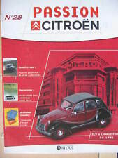 FASCICULE  28  PASSION CITROEN  2CV 6 CHARLESTON 1981 / AX 1990-1993