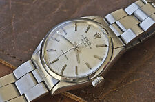 1970 VINTAGE ROLEX OYSTER PERPETUAL PRECISION AIR KING WATCH S. STEEL REF. 5500