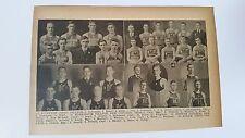 Bluffton Ohio Muskingum Kenyon Hiram College 1918-19 Basketball Team Picture